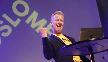 Rektor ved OsloMet - storbyuniversitetet, Curt Rice. Foto Ketil Blom Haugstulen