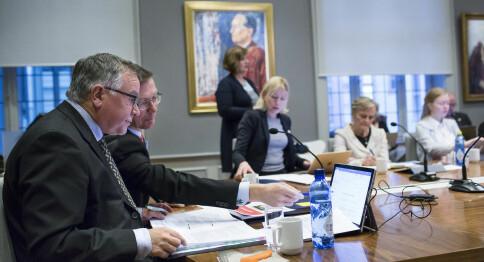 Følg direkte: Direktørstilling og karrierepolitikk på UiB-styremøte