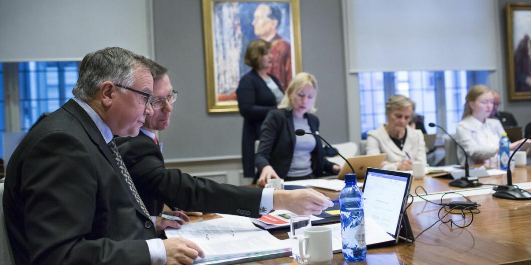 Universitetsdirektør Kjell Bernstrøm har nådd pensjonsalder, og UiB leter nå etter hans etterfølger. Foto: Silje Robinson