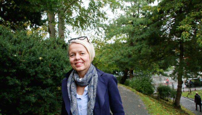 Dekan Camilla Brautaset ved Universitetet i Bergen er glad for anerkjennelsen av at de tre språkfagene er ekstra krevende.