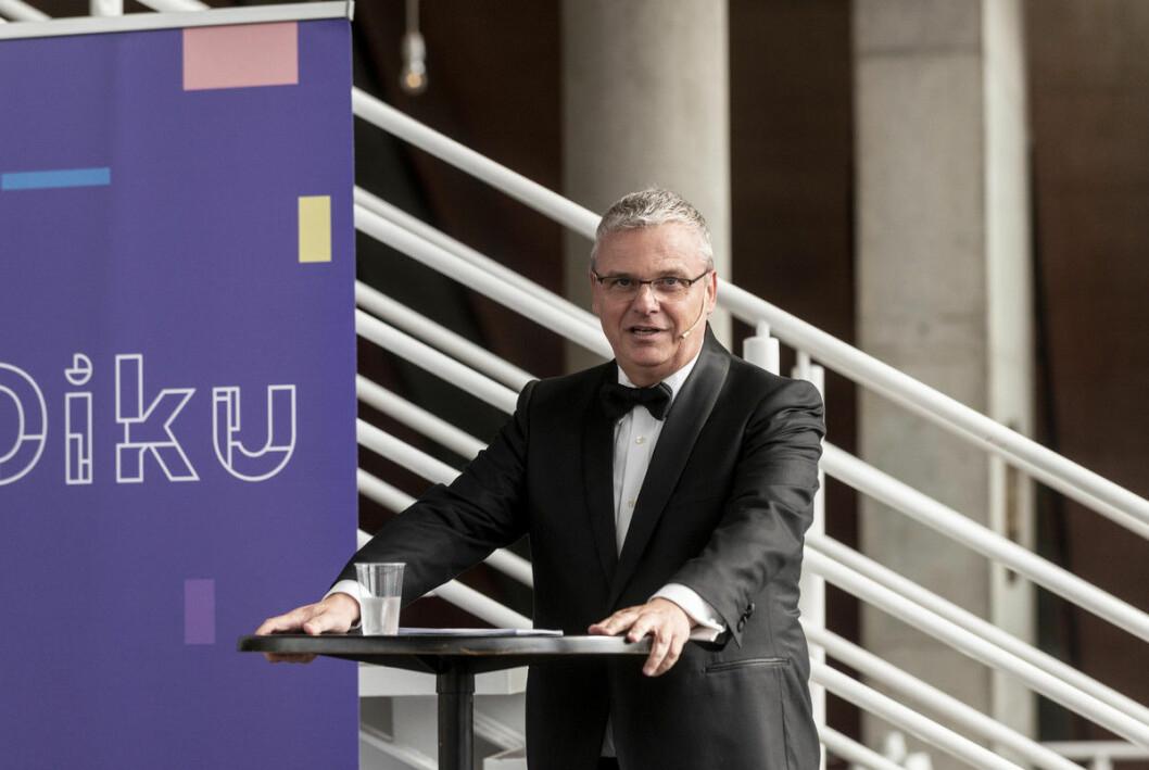 Diku-direktør Harald Nybølet sier at de har vært opptatt av å vise fleksibilitet og lagt til rette for at prosjektene skal kunne tilpasse seg den nye situasjonen i så stor grad som mulig.