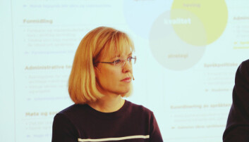 Åse Wetås er direktør for Språkrådet. Ho seier at det er viktig å kunne sjå inn i den nære språkhistoria. Foto: Hilde Kristin Strand