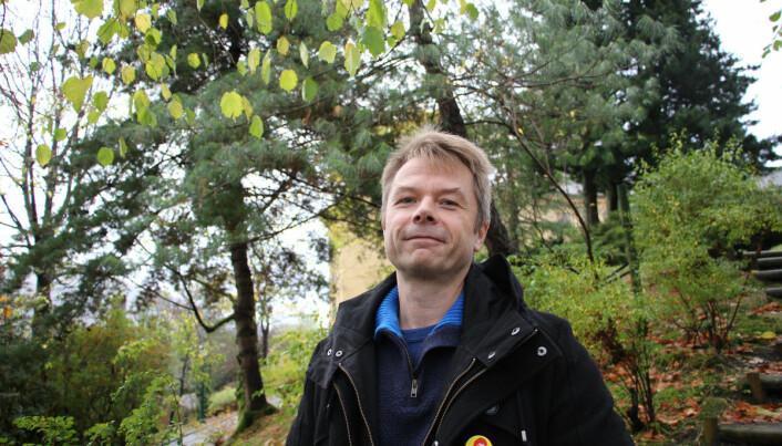 Professor Heming Gujord synest framleis Knut Hamsun er den sterkaste forfattaren i sin generasjon.