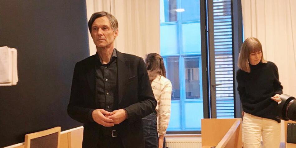 Odd Magne Bakke har blitt ny dekan ved Universitetet i Stavanger. Bildet er fra da han vitnet under rettssaken mot Nils Rune Langeland. Foto: Tove Lie