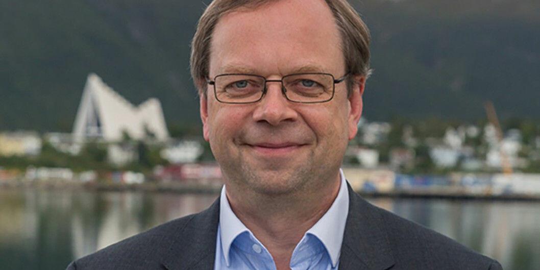 Prorektor Kenneth Ruud ved UiT mener det er svakheter i fersk rapport. Foto: UiT
