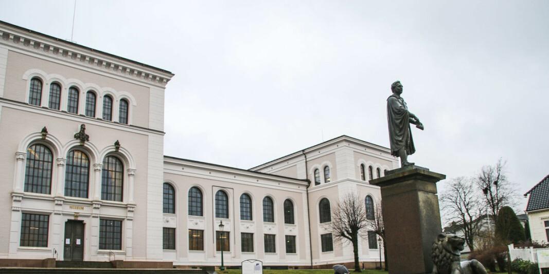 Fram til 18. september skal alle tilsette ved Universitetet i Bergen jobba heimanfrå. Foto: Dag Hellesund