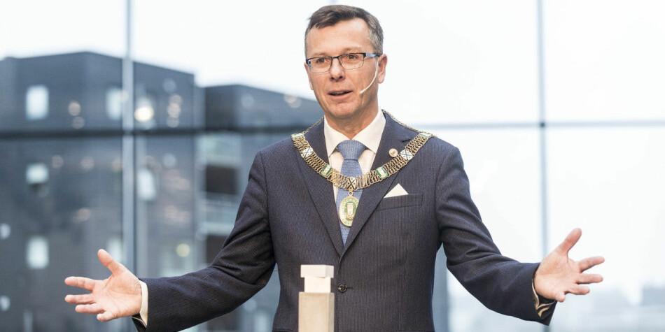 Rektor ved Universitetet i Bergen, Dag Rune Olsen. Foto: Tor Farstad