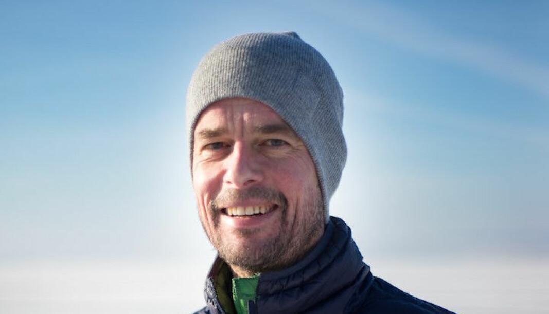 Tor Eldevik er professor i oseanografi ved Geofysisk institutt ved Universitetet i Bergen og er godt fornøyd med den nye Shanghai-rankingen..