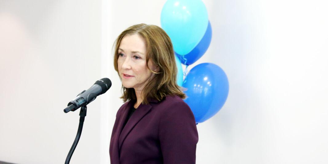 Administrerende direktør Elisabeth Maråk Støle i Norce har sendt ut permitteringsvarsel til 40 ansatte, men trekker nå sannsynligvis noen tilbake.