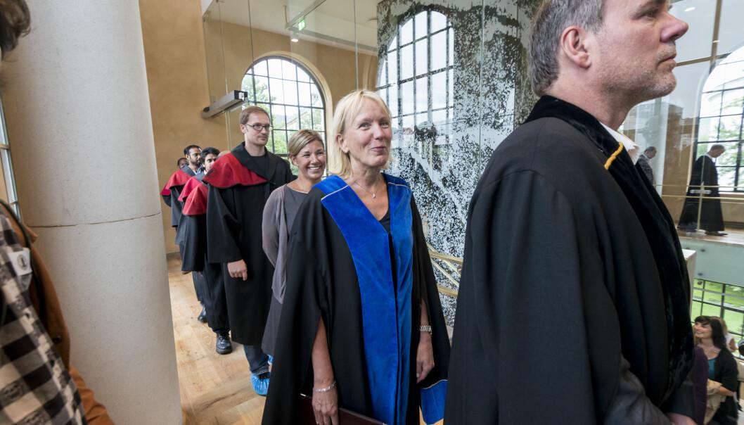 Prorektor ved Universitetet i Bergen, Margareth Hagen har leia arbeidet med å utforme språkpolitiske retningslinjer for Universitetet i Bergen. Foto: Tor Farstad