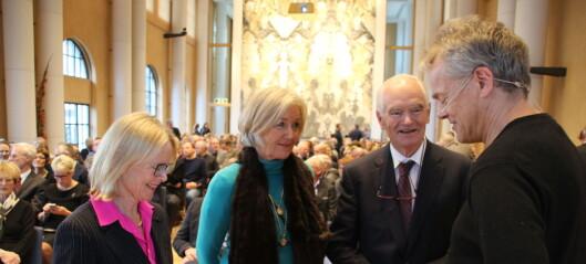Nobelprisvinnere åpner nytt forskningssenter