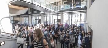 Nesten alle studentane i Bergen attende til campus
