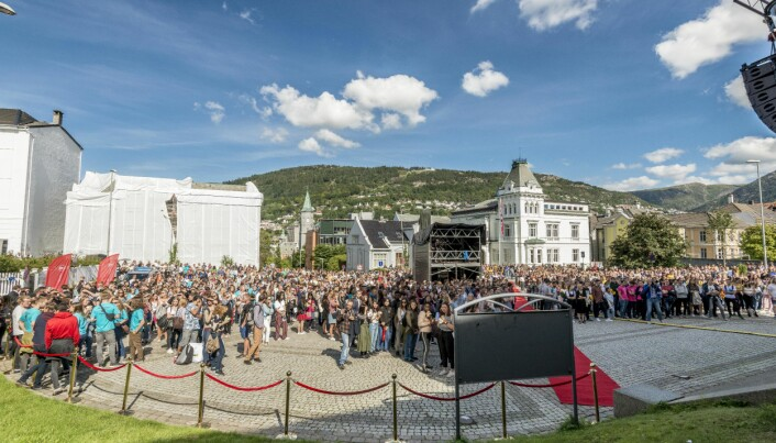 Flere og flere «ve te Bergen»
