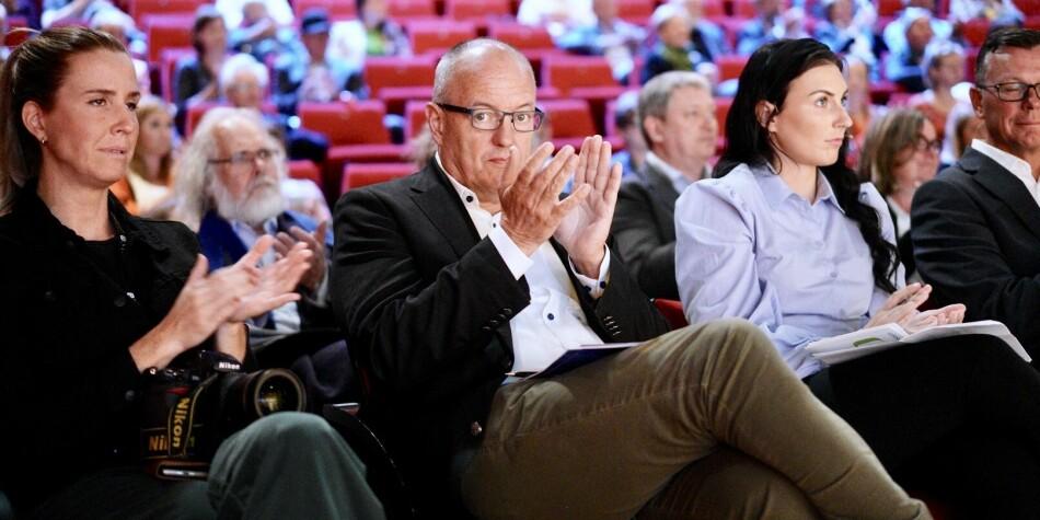 Gunnar Bovim deltok i den store universitets- og høgskoledebatten på Arendalsuka, torsdag 15. august. Foto: Ketil Blom Haugstulen