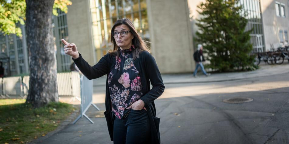 Prosjektdirektør Merete Kvidal mener NTNUs samlokaliseringsprosjekt ikke vil stå ferdig før i 2030. Foto: Skjalg Bøhmer Vold