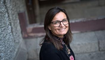 Prosjektdirektør for campusprosjektet ved NTNU, Merete Kvidal. Foto: Skjalg Bøhmer Vold