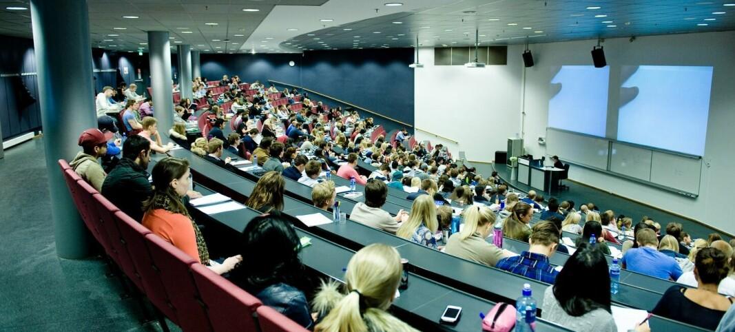 Høyresidens nedbygging av utdanningene