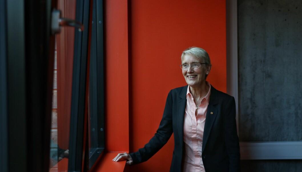 Anne Borg gleder seg til å få ansvar for helheten på NTNU. Foto: Siri Øverland Eriksen