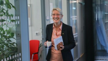 NTNU-rektor Anne Borg. vil fra ord til handling. Foto: Siri Øverland Eriksen