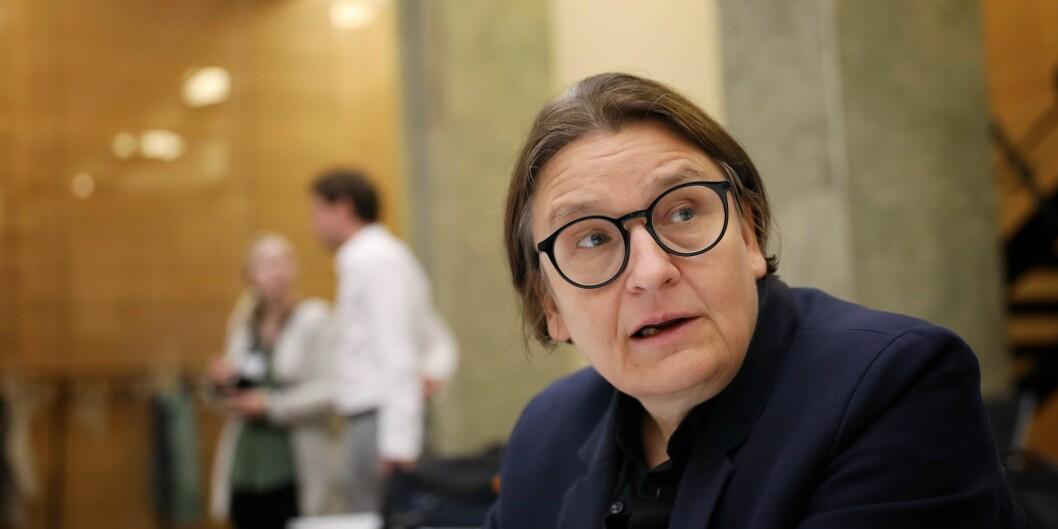 Jusprofessor Ragnhild Hennum går til valg på flere og mer varierte undervisnings- og vurderingsformer. Foto: Siri Øverland Eriksen