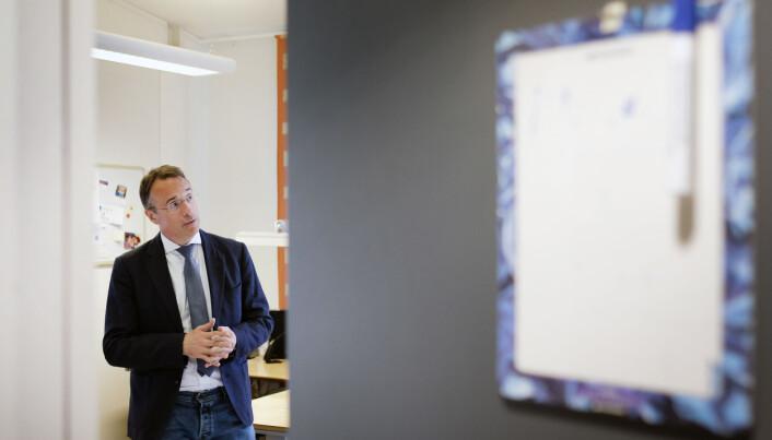 Rektor ved Høgskulen i Volda, Johann Roppen, opplyser at smitta i Volda no er null.