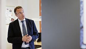 Rektor Johann Roppen ved Høgskulen i Volda.