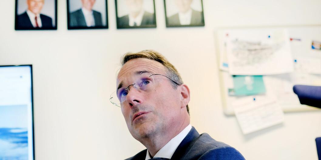 Sjukefråværet er dessverre for høgt ved dei fleste avdelingane, seier rektor Johann Roppen.