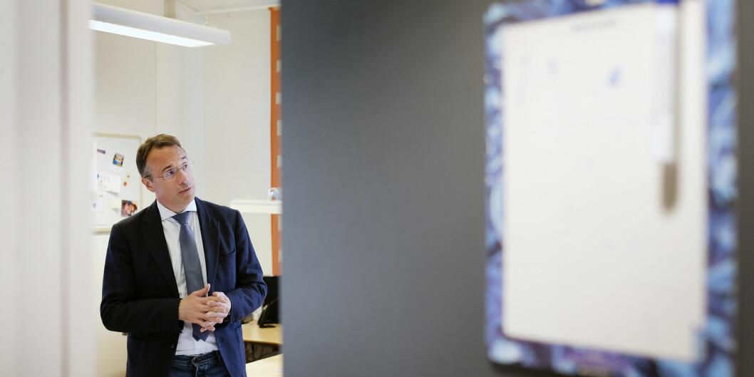 Høgskulen i Volda har bestemt at søknadsfristen for dekanstillinga ved Avdeling for mediefag skal utvidast, og har bede eit rekrutteringsbyrå om hjelp til å finna den beste kandidaten. Foto: Øystein Torheim