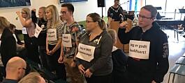 Vendte rektor ryggen - krever fortsatt en beklagelse