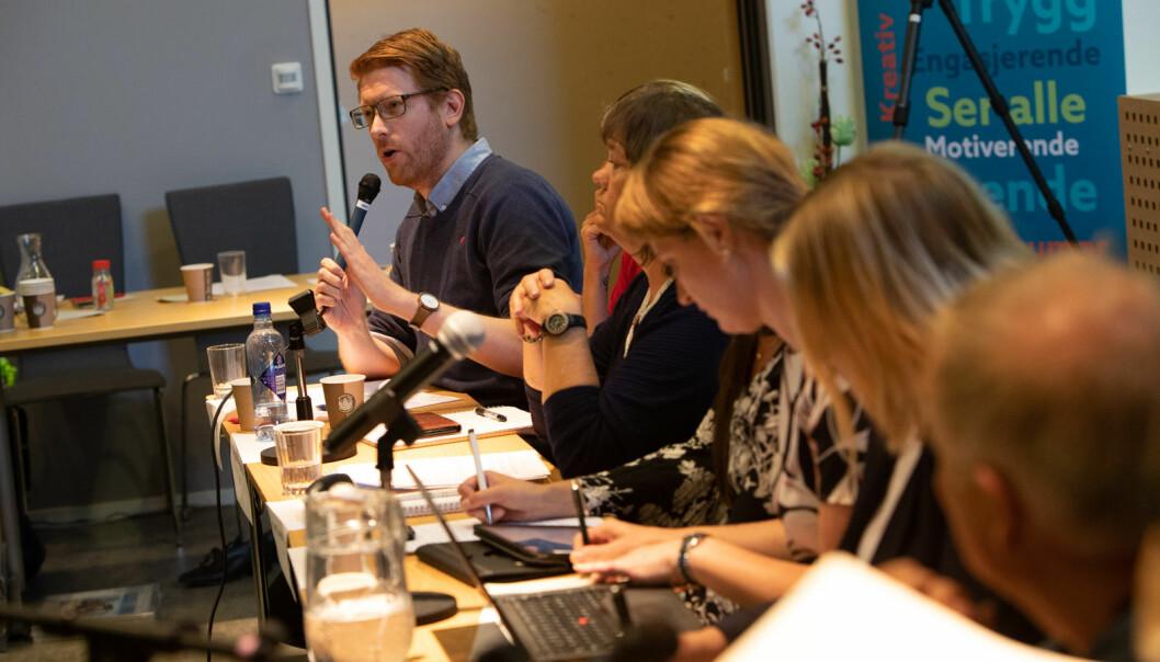 Martin Henriksen (Ap). Foto: Hans Petter Sørensen