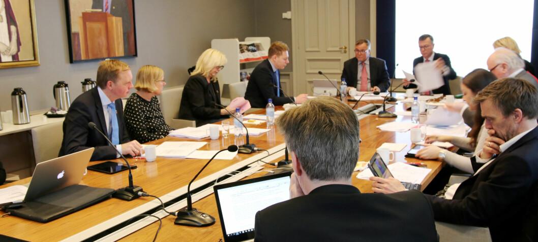 Årets første styremøte ved Universitetet i Bergen