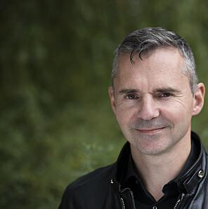 Professor Nils Pharo ved Institutt for arkiv-, bibliotek- og informasjonsfag på OsloMet – storbyuniversitetet. Foto: Sonja Balci / OsloMet
