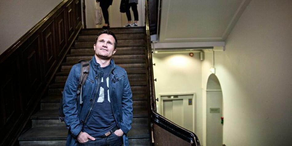 Ketil Raknes, kommunikasjonsekspert og høgskolelektor på Høyskolen Kristiania. Foto: Aleksander Nordahl, Dagens Næringsliv
