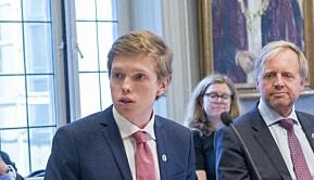 Studentrepresentant i styret til Universitetet i Bergen, Gard Skulstad Johanson.