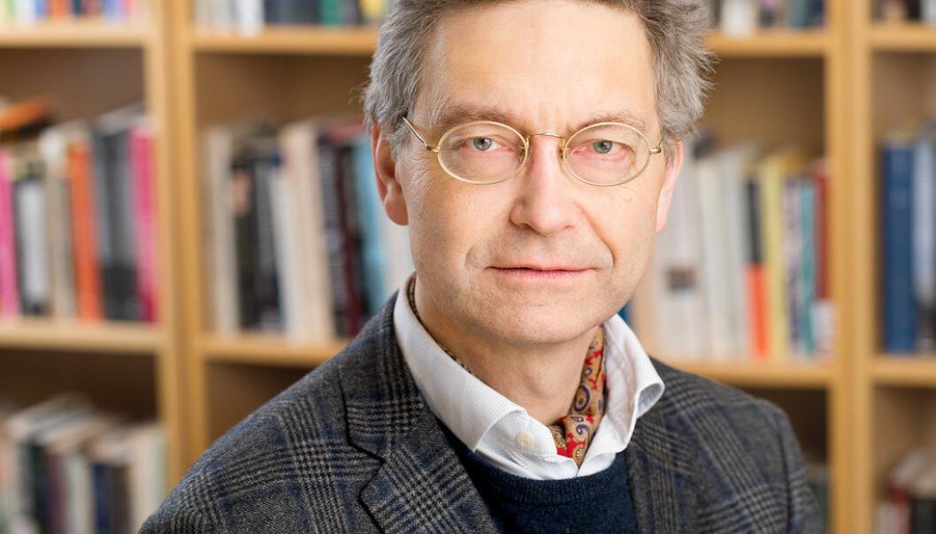 Iver B. Neumann forlater direktørjobb OsloMet. Foto: OsloMet