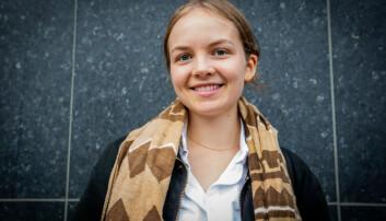Lone Jensen Høyvik (19). Foto: Runhild Heggem