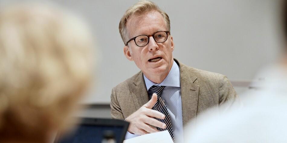 Rektor på OsloMet, Curt Rice, er fortsatt dårligst i klassen med tanke på forholdet mellom faglige og administrativt ansatte, men han er den eneste som har hatt faktisk nedgang i antall ansatte i administrasjonen i 2019.