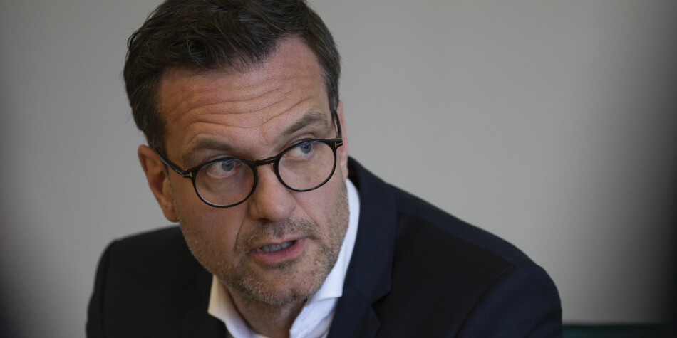 Universitetsdirektør Jørgen Fossland opplyser at svindelforsøket skjedde i forbindelse med en delbetaling av en røntgenmaskin. Foto: David Jensen/UiT