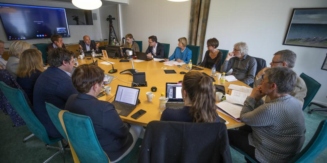 Styret ved UiT Norges arktiske universitet har årets første styremøte onsdag 5. februar. Foto: David Jensen/UiT