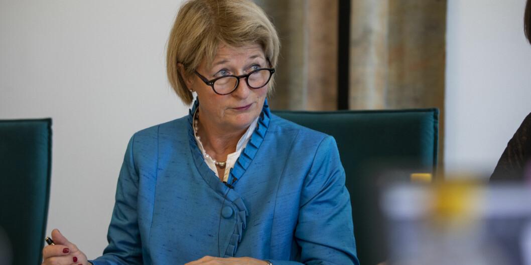 Rektor Anne Husebekk, UiT Norges arktiske universitet har hatt mange utenlandsreiser siste år . Foto: David Jensen/UiT