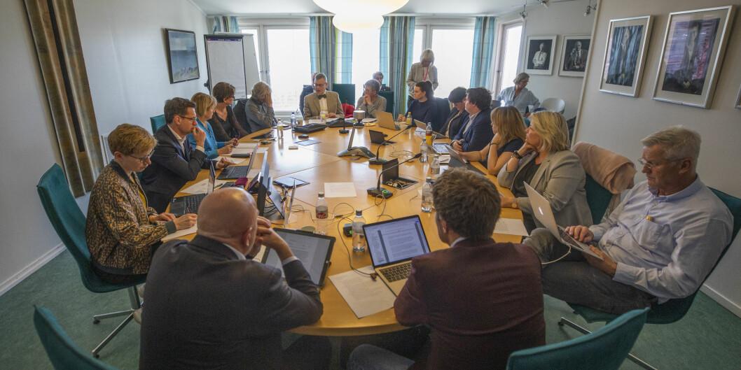 Styret ved Norges arktiske universitet har høstens første møte onsdag 11. september. Foto: David Jensen/UiT