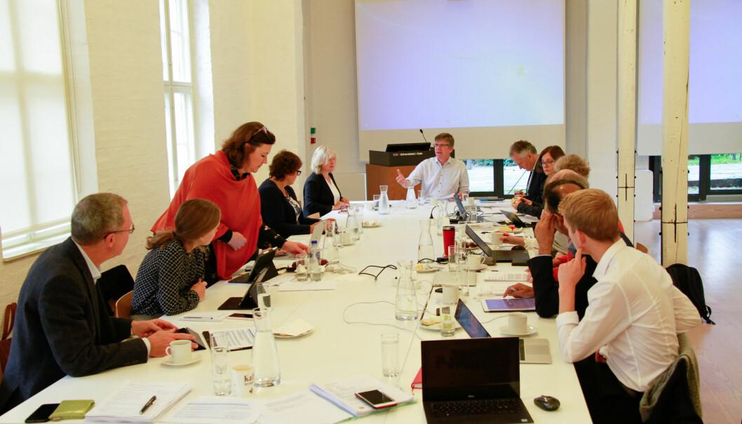 Styret ved Universitetet i Oslo diskuterte onsdag foreldrepermisjon for forskere i midlertidige stillinger. Foto: Mats Arnesen