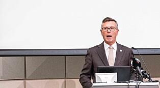 Fremlegging av rapport om seksuell trakassering i UH-sektoren, Dag Rune Olsen