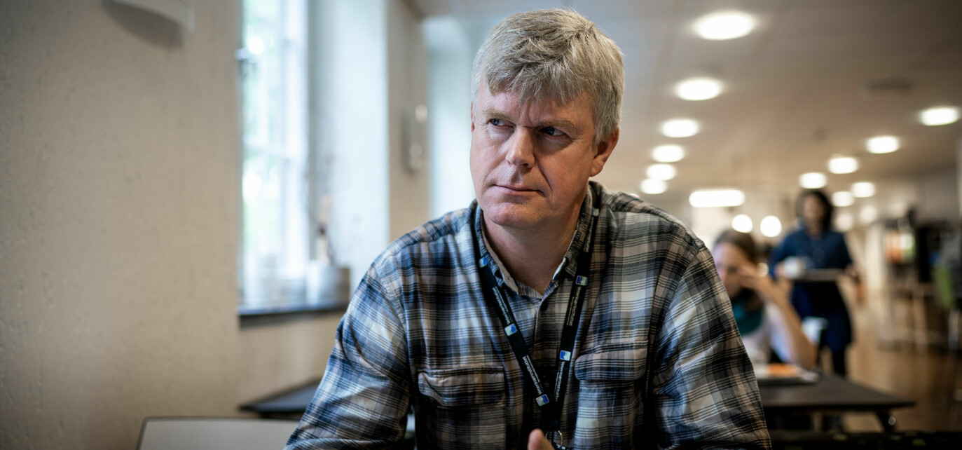 — Det er som å pløye ny mark. Vi har lite kunnskapsgrunnlag å bygge på, seier leiar for Seksjon for høgrisikoagens og patologi, Kristian Hoel. Foto: Ketil Blom Haugstulen.