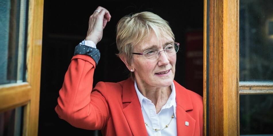 Konstituert rektor på NTNU, Anne Borg. Foto: Siri Øverland Eriksen
