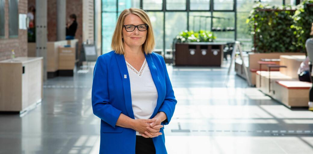 UiA-rektor Sunniva Whittaker forteller til Khrono at universitetet lenge har hat planer om å gjøre både Kristiansand og Grimstad mer studentpregede.