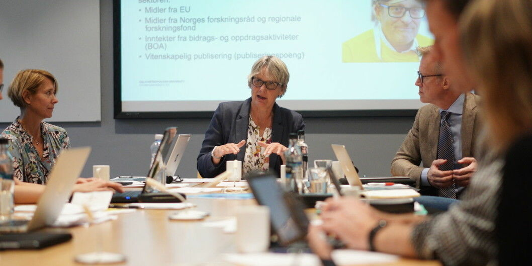 Problemene med nettsidene til OsloMet ble behandlet på styremøte 6. september. Foto: Ketil Blom Haugstulen
