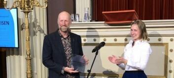 UiT-professor Audun Rikardsen fikk Forskningsrådets formidlingspris