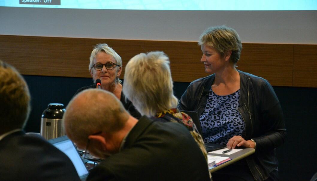 Nord universitet avholder styremøte i Steinkjer fredag 25. oktober. Foto: Øystein Fimland