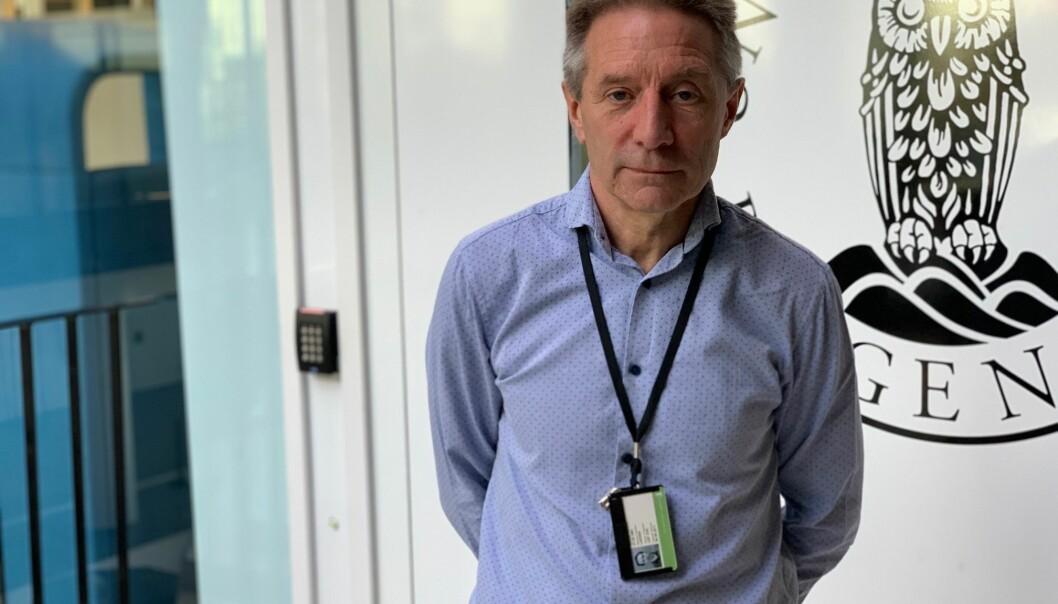 Leif Ove Larsen minner om at det er flere fakultet enn Det matematisk-naturvitenskapelige som tilbyg IKT-studier.